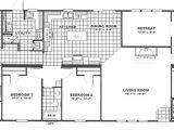 Marshall Mobile Homes Floor Plan 4 Bedroom 3 Bath 32 X 78 Schult Homes Marshall Mobile Homes