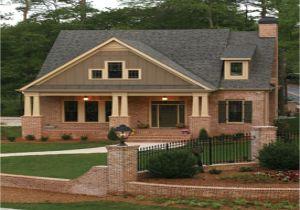 Masonry Home Plans Brick Craftsman Home Plans Home Deco Plans