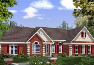 Masonry Home Plans Dramatic Brick and Stucco Ranch 2029ga 1st Floor