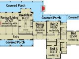 Massive House Plans Hill Country Home with Massive Porch 46041hc