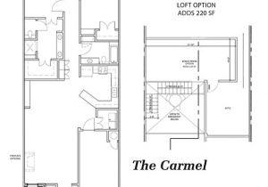 Mccaleb Homes Floor Plans the Carmel