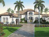 Mediterranean Custom Homes Floor Plans Mediterranean Dream Home Plan with 2 Master Suites