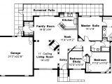 Mediterranean Home Floor Plans Mediterranean House Plans Carrizo 11 010 associated