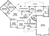 Mediterranean Home Floor Plans Mediterranean House Plans Grenada 11 043 associated