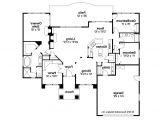 Mediterranean Home Floor Plans Mediterranean House Plans Royston 30 398 associated