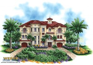 Mediterranean Homes Plans Luxury Mediterranean House Plan Castello Dal Mar House