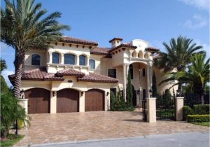 Mediterranean Homes Plans Spanish Hacienda Style Homes Spanish Mediterranean House