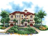 Mediterrean House Plans Luxury Mediterranean House Plan Castello Dal Mar House
