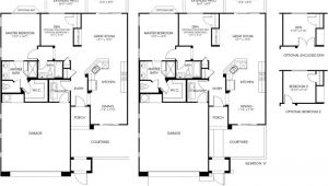 Melody Homes Floor Plans Colorado Melody Floor Plan Duet Series Cantamia Floor Plans