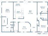 Metal Building Floor Plans for Homes Metal Buildings with Living Quarters Metal Buildings as