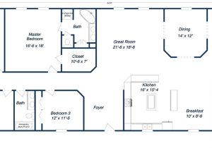 Metal Building Home Floor Plans Metal Building Homes for Sale
