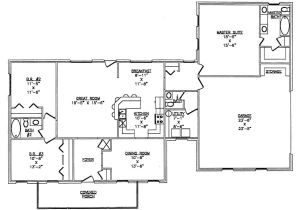 Metal Homes Floor Plans the Lth033 Lth Steel Structures