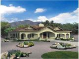 Mexican Home Plans Hacienda House Plans with Center Courtyard Ayanahouse