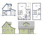 Micro Home Floor Plans Small Courtyard House Plans Small House Plans with Loft