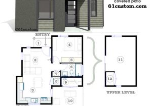 Micro Housing Plans Studio500 Modern Tiny House Plan 61custom