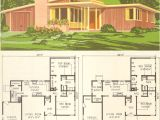 Mid Century Modern Home Plans Mid Century Modern House Plan No 5305 1954 National