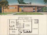 Mid Century Modern Homes Floor Plans Mid Century Modern House Architecture