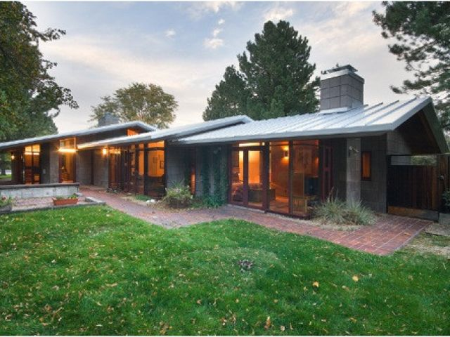 Mid Century Modern Ranch Home Plan Amazing Modern Ranch Style House