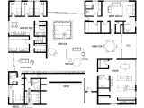 Miller Homes Floor Plans Hand Drafting Eero Saarinen 39 S Miller House On Behance