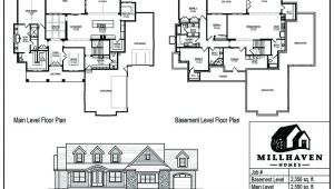 Millhaven Homes Floor Plans Millhaven Homes Semi Custom and Custom Floorplans