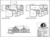 Millhaven Homes Floor Plans Millhaven Homes Semi Custom and Custom Floorplans