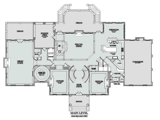 Million Dollar Home Floor Plans Million Dollar Home Plans Floor