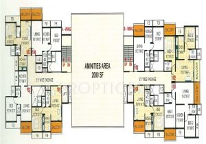 Miracle Homes Floor Plans 930 Sq Ft 2 Bhk 2t Apartment for Sale In Resicom