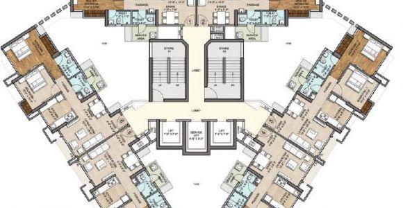 Miracle Homes Floor Plans Floor Plan Miracle Homes Vijay orovia at Ghodbunder