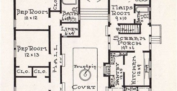 Mission Home Plan Free Home Plans Mission Style House Plans