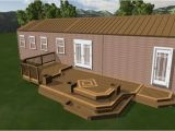Mobile Home Deck Plans Mobile Home Deck Designs Wooden Home