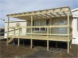 Mobile Home Deck Plans Mobile Home Plans with Porches