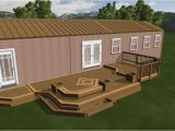 Mobile Home Deck Plans Nice Mobile Home Deck Design Plan Showing Taupe Rooftop