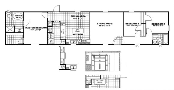Mobile Home Floor Plans and Prices Manufactured Home Floor Plan Clayton the Price Buster