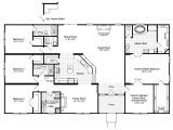 Mobile Home Floor Plans the Hacienda Iii 41764a Manufactured Home Floor Plan or