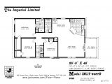 Mobile Home Plans Imlt 3487b Mobile Home Floor Plan Ocala Custom Homes
