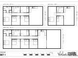 Moble Home Floor Plans Floorplans Value Mobile Homes