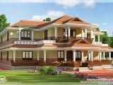 Model Home Plans Keral Model 5 Bedroom Luxury Home Design Kerala Home