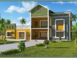 Model Home Plans Kerala Home Model Sloping Roof House Elevation at 1700 Sq Ft