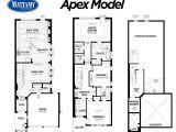 Model Homes Floor Plans Mattamy Homes In the Preserve Oakville the Preserve