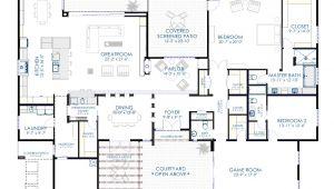 Moden House Plans Contemporary Courtyard House Plan 61custom Modern