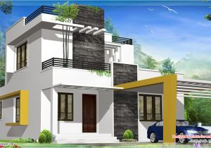 Moder House Plans 1500 Sq Feet Beautiful Modern Contemporary House Kerala