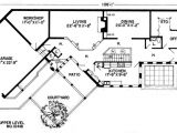 Modern Berm House Plans First Floor Plan Of Contemporary Earth Sheltered S Retro