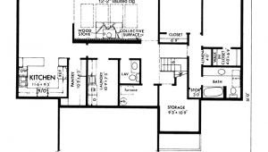 Modern Berm House Plans Genesta Contemporary Berm Home Plan 072d 1088 House