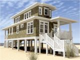 Modern Coastal Home Plans Modern Beach House Plans On Stilts