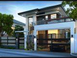Modern Contemporary Home Plans Easy Ideas Modern 2 Storey House Designs Modern House