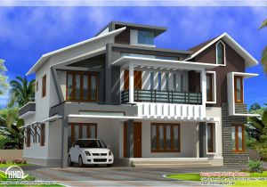 Modern Contemporary Home Plans Modern Contemporary Home In 2578 Sq Feet Kerala Home