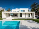 Modern Day House Plans Bright White and Modern On the Mediterranean Freshome
