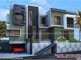 Modern Duplex Home Plans Modern Duplex House Kerala Home Design and Floor Plans
