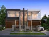 Modern Duplex Home Plans Taking A Look at Modern Duplex House Plans Modern House