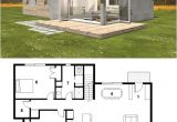 Modern Energy Efficient Home Plans Small Modern Cabin House Plan by Freegreen Energy